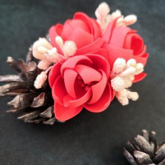 Резинки с яркими цветами