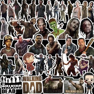 Стикеры Walking Dead