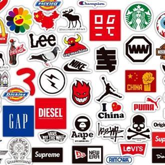 Стикеры Логотипы