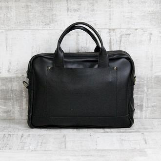 Сумка портфель через плечо , сумка для ноутбука .