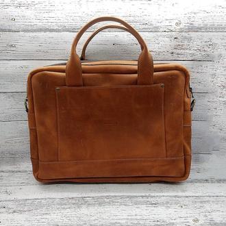 Сумка портфель через плече , сумка для ноутбука .