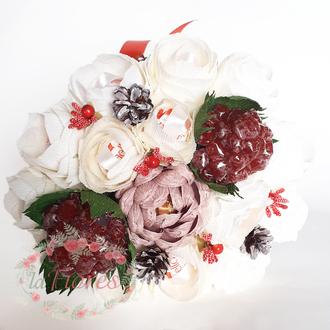 Букет конфет Зимний сад (арт. 039)