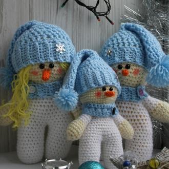 Куклы амигуруми Семейка