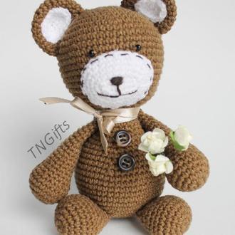 В'язаний медведик Тедді/Вязанный медвежонок Тедди