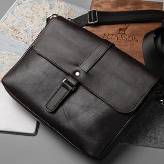 Мужская сумка Postman Brown