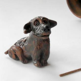 Статуэтка в виде собаки интерьерная собачка