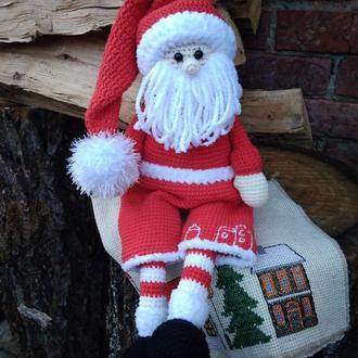 Санта Дед Мороз крючком Игрушка