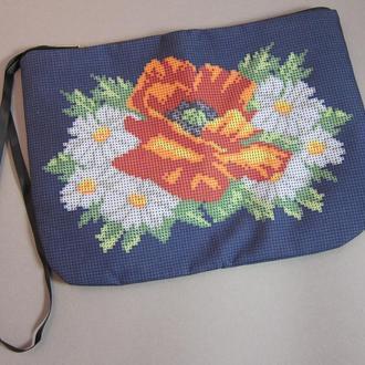 Косметичка для вышивки бисером или нитками