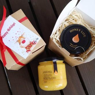 Новогодние подарки с крем-медом - отличный подарок к зимним праздникам