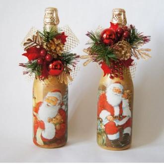 Новогодние бутылки шампанского, на ваш вкус