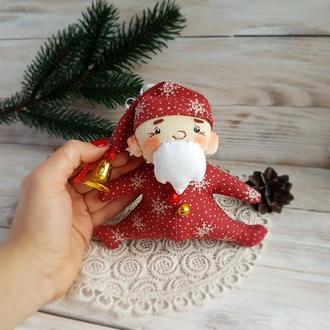 Дед Мороз игрушка на ёлку (прикраса на ялинку)