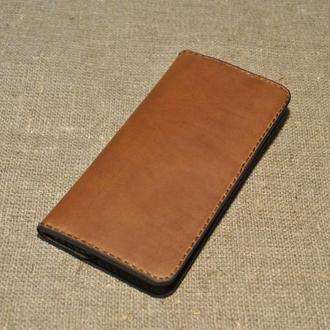 Оригинальный кожаный кошелек ручной работы K03-210