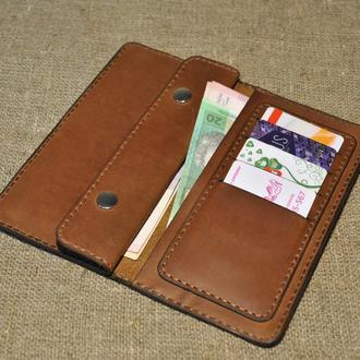 Оригинальный кожаный кошелек K03-210