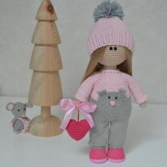 Кукла мышонок