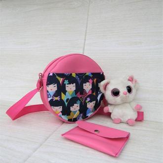 Супер милая розовая сумочка