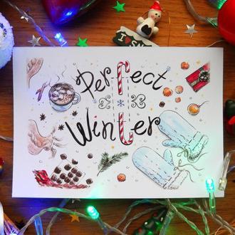 "Открытка ""Perfect Winter"""