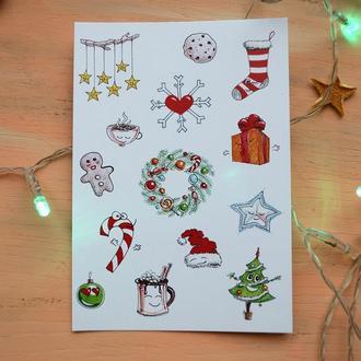 """Листівка """"Winter Holidays"""""""