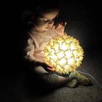 Светильник-гортензия