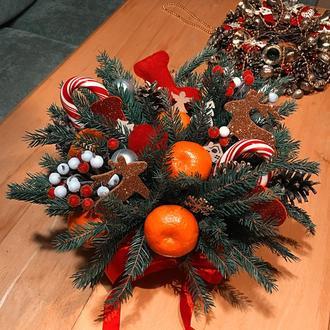 Подарочные съедобные боксы, коробка подарок, новогодняя корзина, новогодний подарок, Рождество!