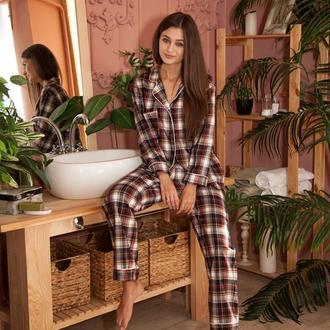 Пижама с шерстью в скандинавском стиле
