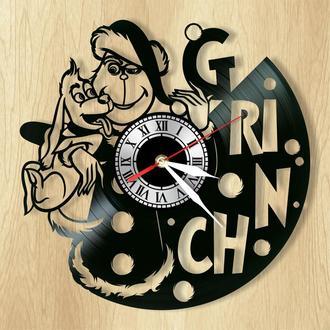 """Настенные часы """"Гринч – похититель Рождества"""" - классный подарок для себя и своих близких."""