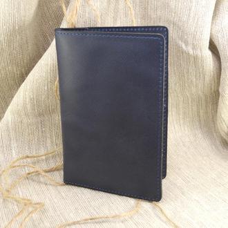 Кожаный чехол для паспорта, карт и денег (4 в 1) Ч1-11