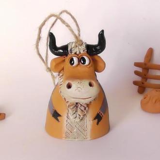 Колокольчик  Корова мечтательная
