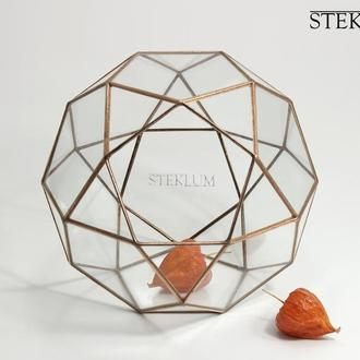 Флорариум №6 mini Globe copper