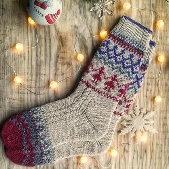Теплі шкарпетки подовжені