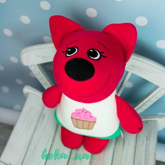Мягкая игрушка - подушка Лиса Ми-Ми-Мишки