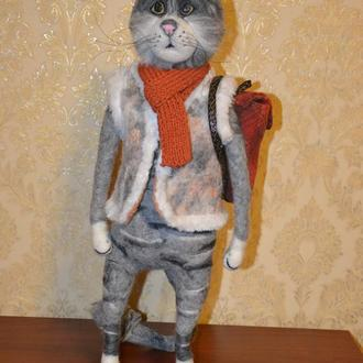 интерьерная игрушка кот Мог.