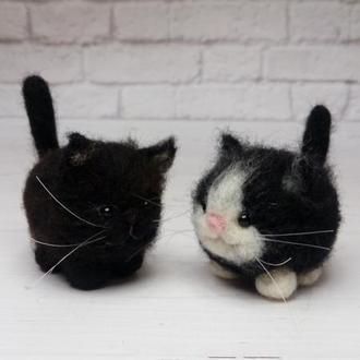 Игрушка кот чёрный. Котики. Коты