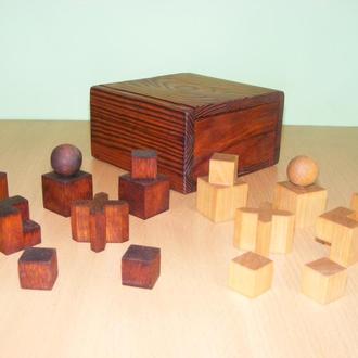 Bauhaus шахматный набор с доской.