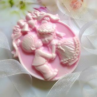 Сувенірна весільну мило в коробочці, бонбоньєрки