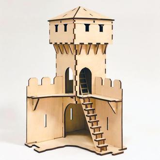 Угловая башня замка