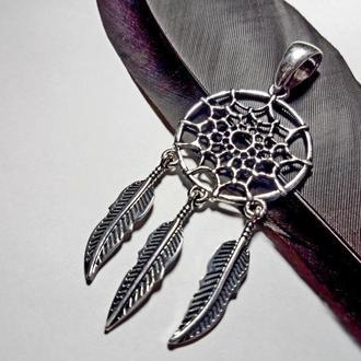 Кулон-амулет ′Ловець снів′ (срібло)