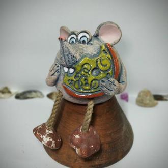 Керамическая копилка Мышка