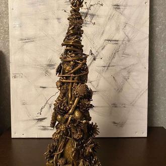 Настольная новогодняя елка