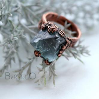 """кольцо """"Зимнее настроение"""""""