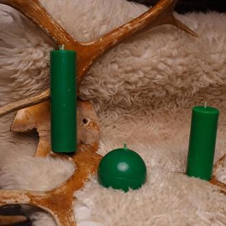 Свечи для игр с воском, EdgePlay, Зеленый