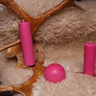 Свечи для игр с воском, EdgePlay, Розовый