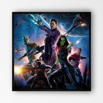 """Постер в раме на ПВХ 3 мм. """"Стражи Галактики / Guardians of the Galaxy"""" #3"""