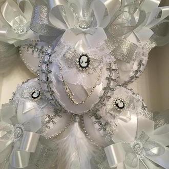 Набор Новогодних ёлочных шаров, новогодние интерьерные украшения