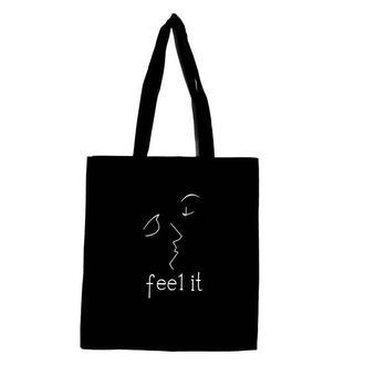 Эко-сумка шоппер «Поцелуй»