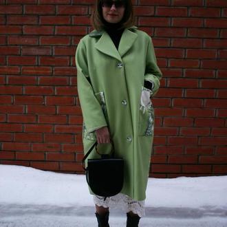 Пальто Green bird от Blue Cat Label.crafta.ua
