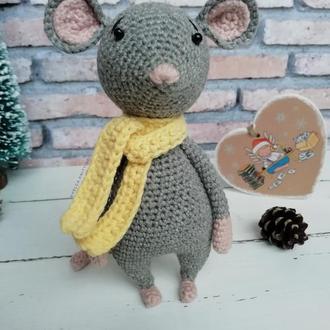 Мышка (Крыска вязаная)