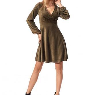 Платье женское длиной выше колена