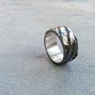 """Серебряное кольцо """"Скалистое"""""""