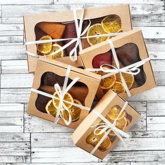 Коробка конфет! Натуральный подарочный набор из пастилы/фрипсов (цена за 100г.)
