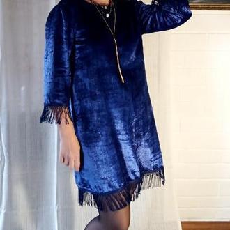 Бархатное платье нарядное